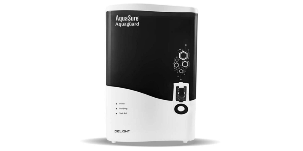 Eureka Forbes AquaSure from Aquaguard Delight (RO+UV+MTDS) 7L water purifier