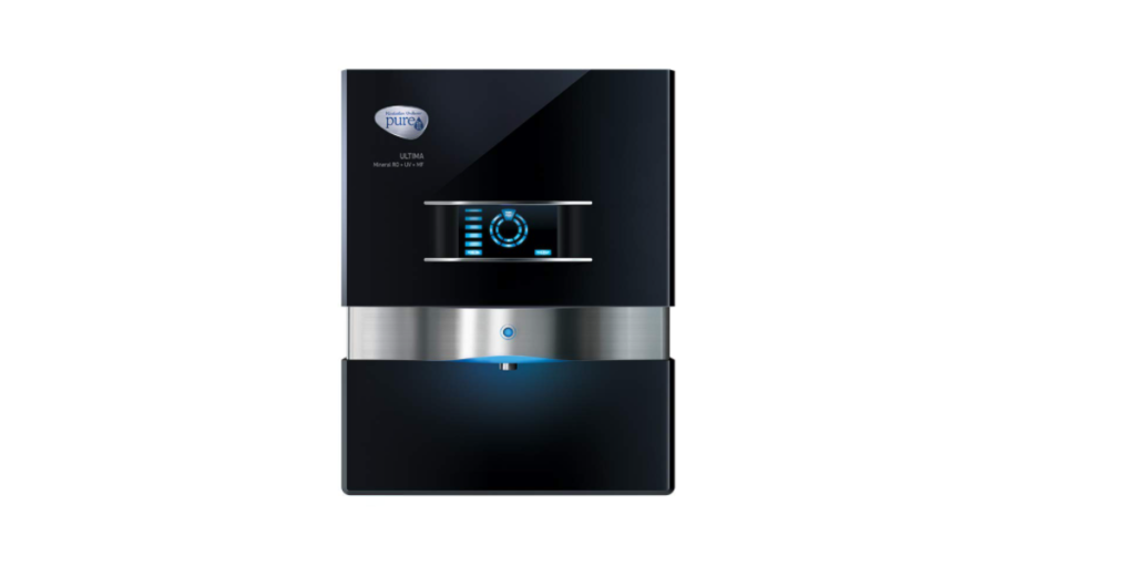 HUL Pureit Ultima Mineral RO + UV + MF 7 Stage Table top-Wall mountable Black 10 litres Water Purifier