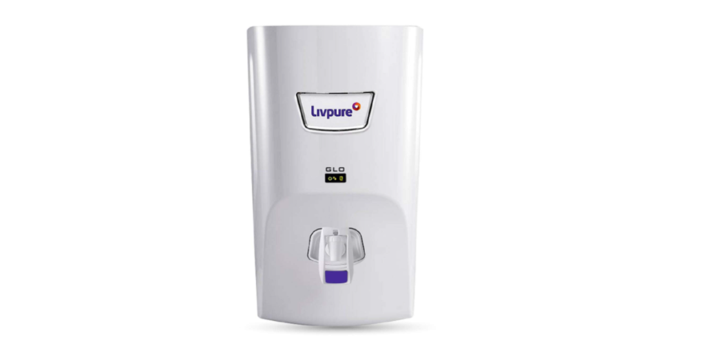 Livpure Glo 7 litres RO+UV+ Mineralizer water purifier