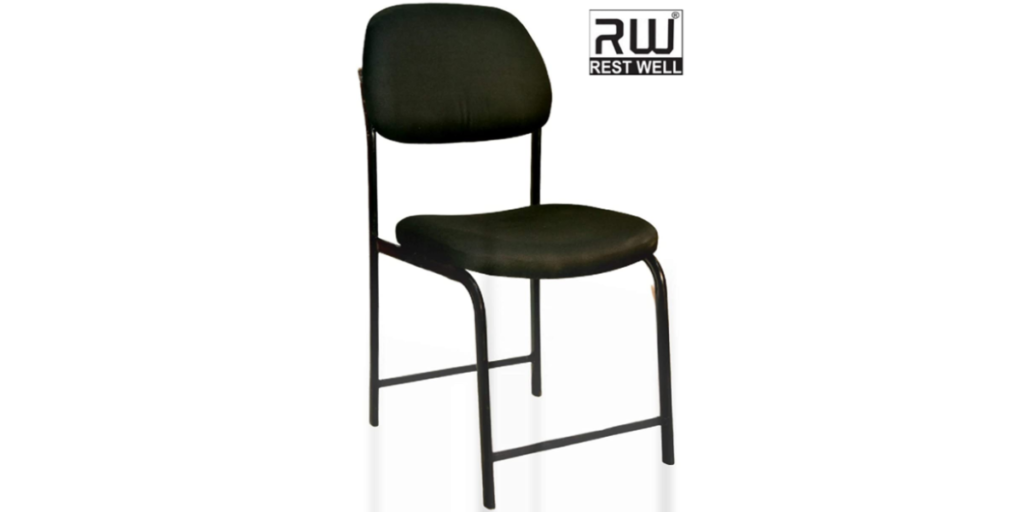 RW REST WELL N Type Comfortable Visitor-Study Metal Chair