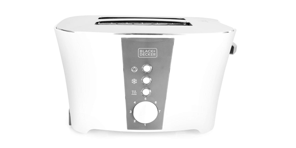 Black+Decker ET122 800-Watt 2-Slice Cooltouch Pop-up Toaster