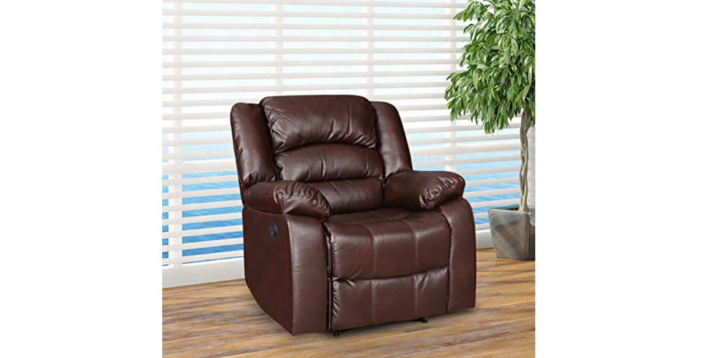 HomeTown Bradford Fabric Single Seater Recliner