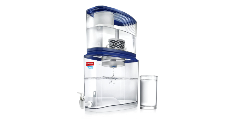 Prestige Non Electric Acrylic Water Purifier