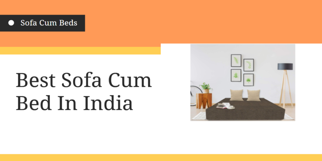 Best Sofa Cum Bed In India